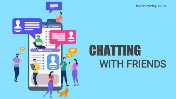 Online Friends chat
