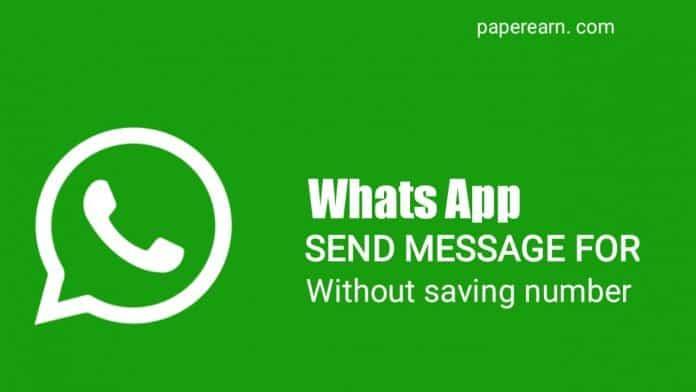 Direct Send Message For Whatsapp - technewztop.com