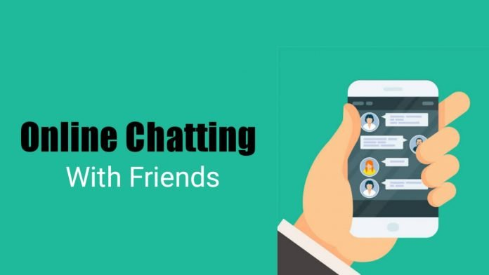 Online Chatting With friends