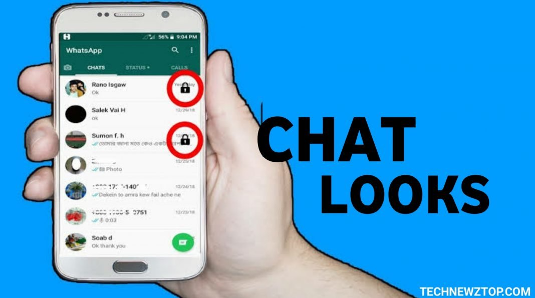 Chat lock for WhatsUp App - technewztop.com
