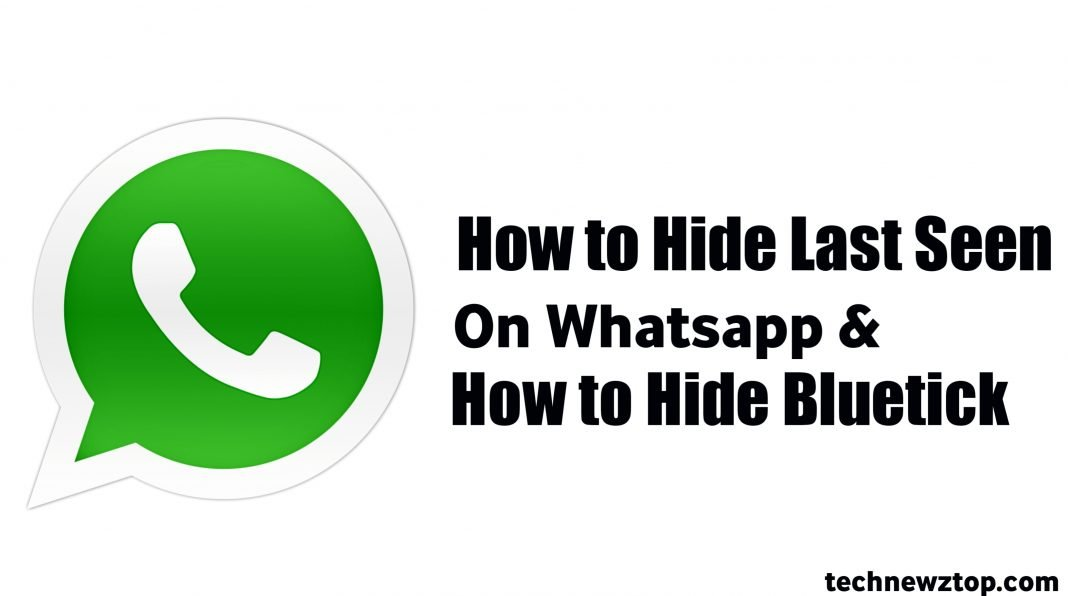 How to Hide Last Seen On Whatsapp & How to Hide Bluetick