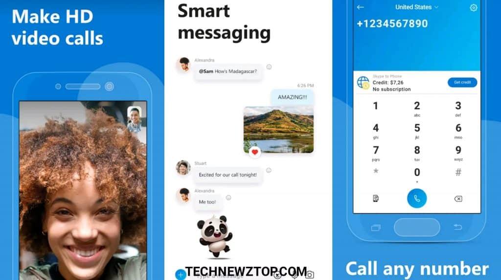 Skype Best Video Calling App - technewztop.com