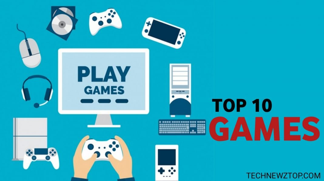 Top 10 Best Games For All Android - technewztop.com