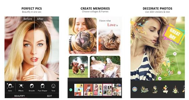 Best YouCam Perfect Selfie Camera & Phot Editor android