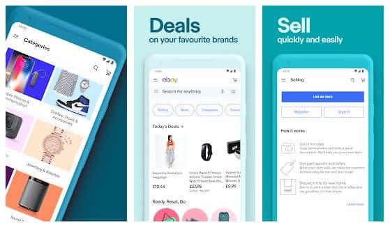 eBay online shopping app - technewztop.com