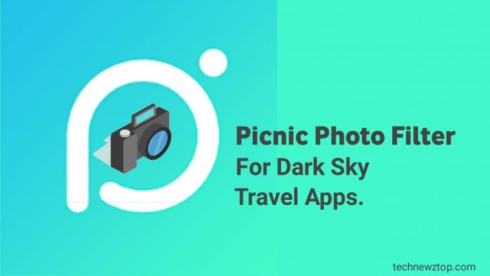 How to use the Picnic Photo Filter For Dark app.