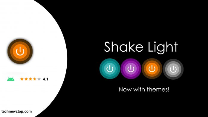 Shake Light Bright Torch Free Android App