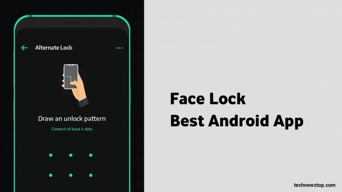 Android Face Lock App
