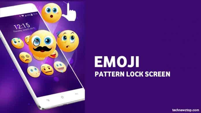 Emoji Pattern Lock Screen