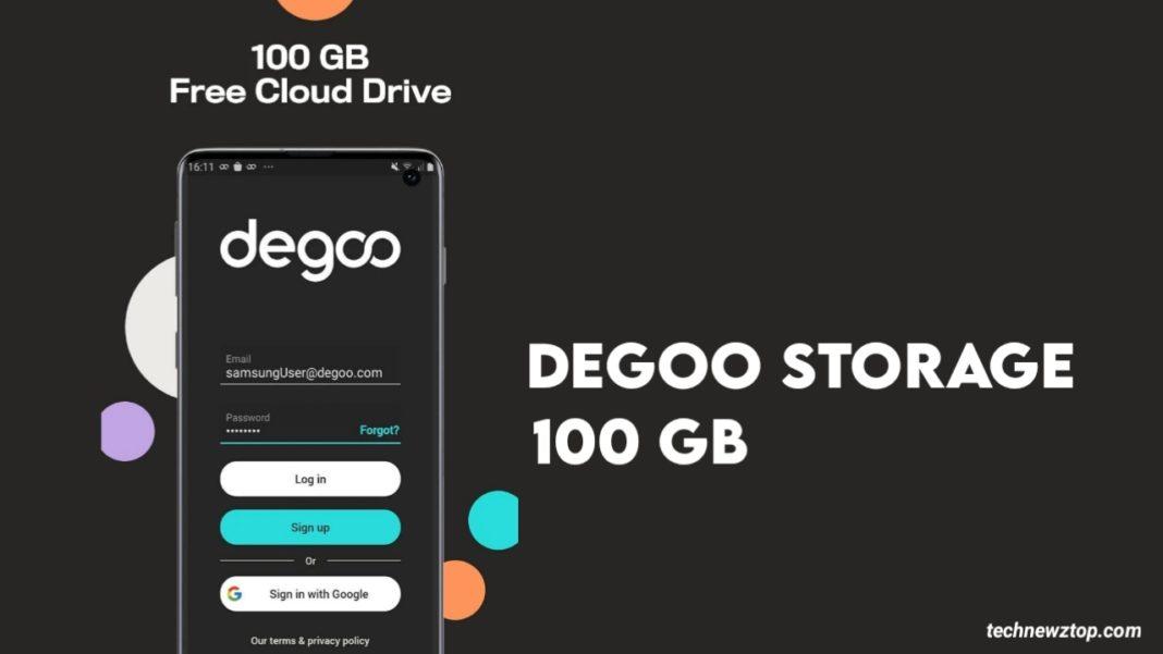 Degoo Cloud Storage