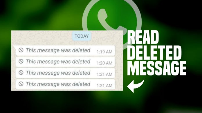 How to Read WhatsApp Delete Message