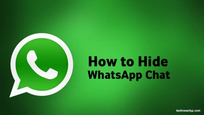 How to Hide personal WhatsApp chat
