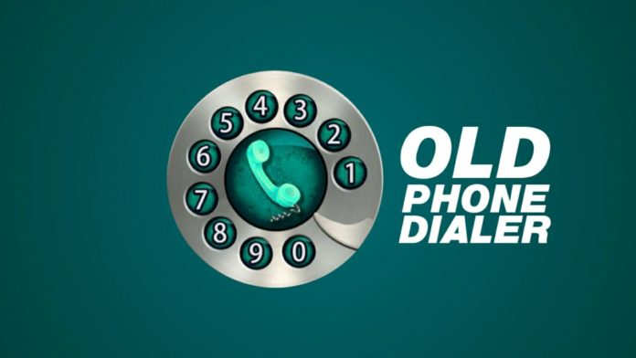Set Old Rotary Phone Dialer
