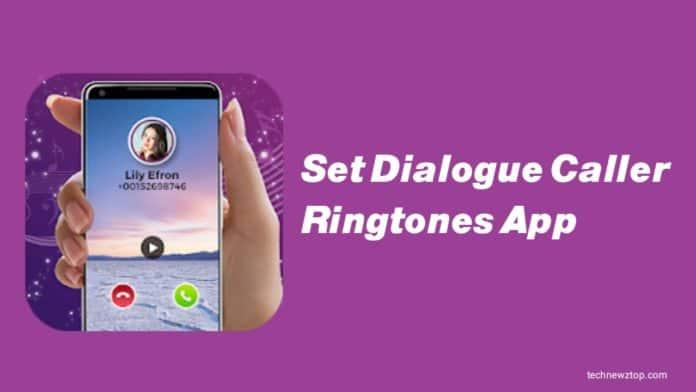 Set Dialogue Caller Ringtone