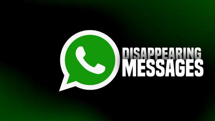 What is WhatsApp Disappearing Messages