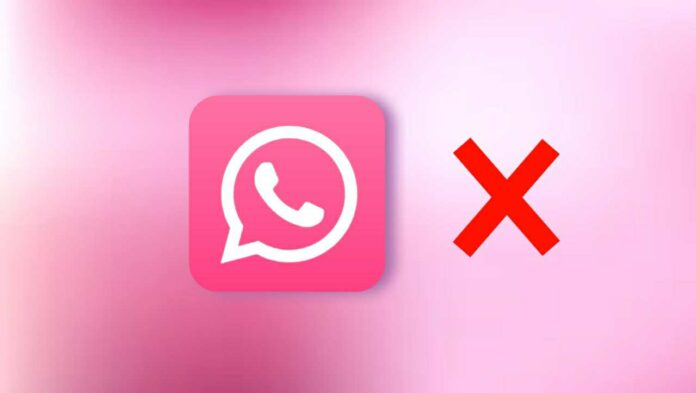 What is the Pink WhatsApp